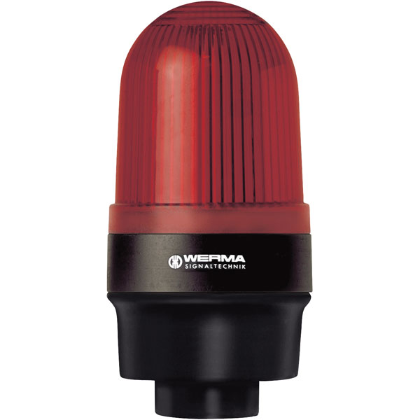 Werma Signaltechnik 219.100.00 Red 12-240VAC/DC Steady Light