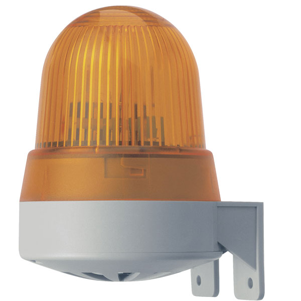 Werma Signaltechnik 422.310.75 LED Buzzer Combination Yellow 24VAC/DC