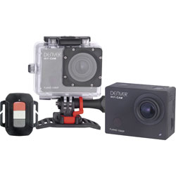 Denver ACT-8030W Full HD Action Camera with WLAN and Internal Memory