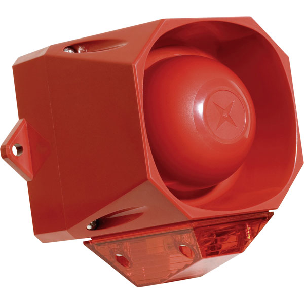 Compro AS/M/R/9-60 ASSERTA MIDI Sounder and Beacon Red