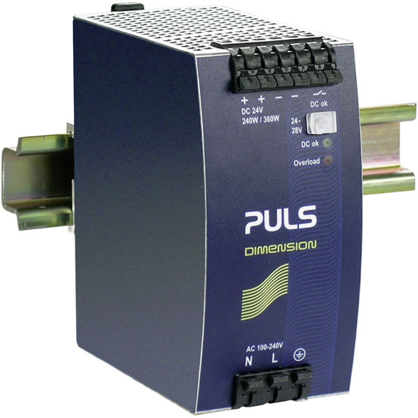 PULS QS10.241-A1 DIN Rail Power Supply Single Phase 24VDC 10A 240W