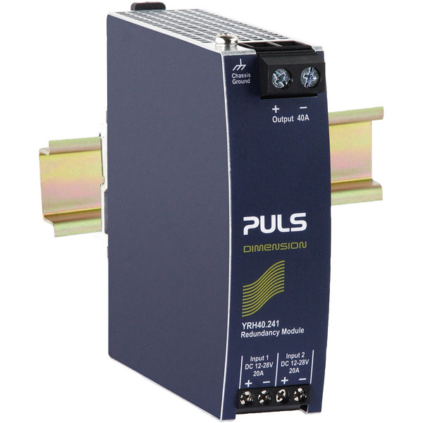 PULS YR40.242 DIN Rail Power Supply Redundancy Module 24VDC 40A