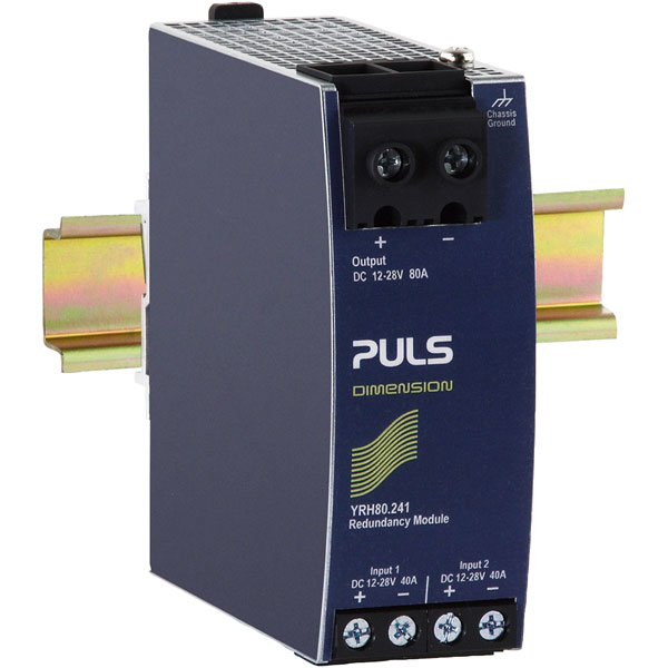 PULS YR80.242 DIN Rail Power Supply Redundancy Module 24VDC 80A