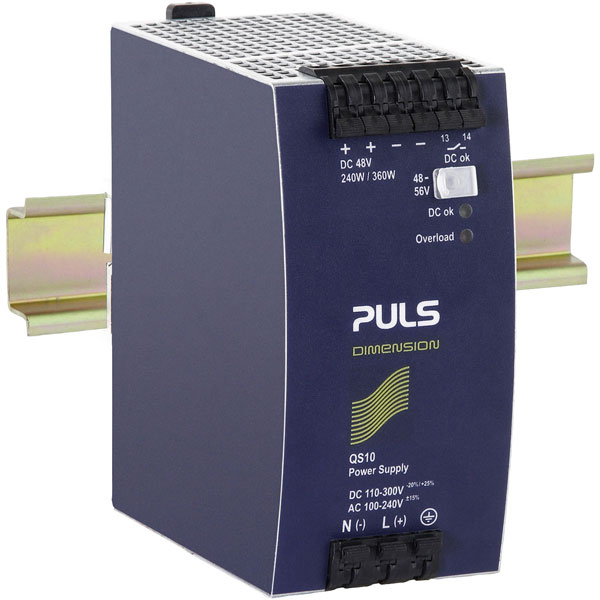 PULS QS10.481-D1 DIN Rail Power Supply Single Phase 48VDC 5A 240W