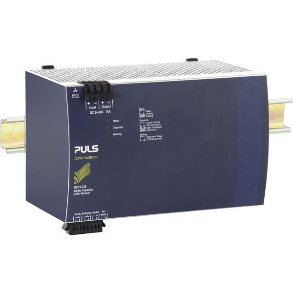 PULS UC10.242 DIN Rail Power Supply Single Phase 22.5VDC 15A 360W