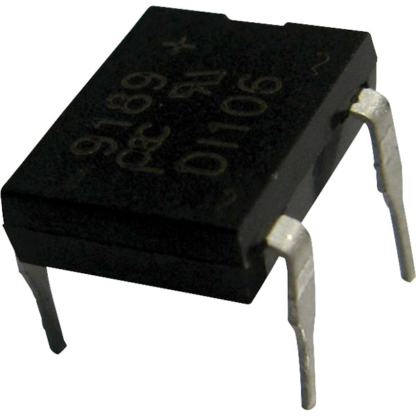 5 x DB106 Bridge Rectifier Diode 1A 800V DIL-4