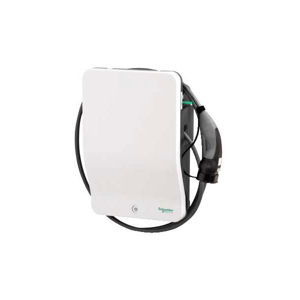 Schneider Electric EVH2S7P0CK 7.4kW Charger with attached cable an...
