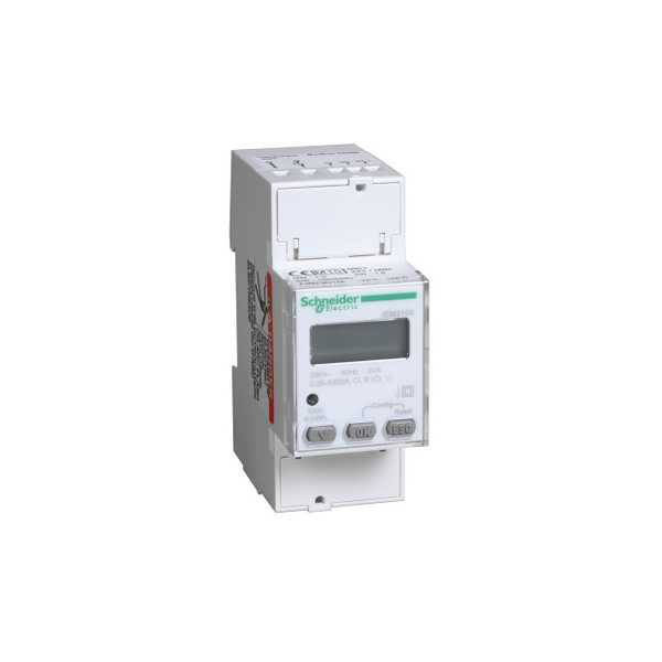 Schneider Electric A9MEM2155 Single Phase kWh Meter 63A Modbus MID