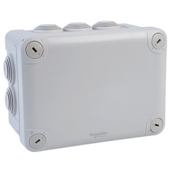 Schneider Electric ENN05007 IP55 Junction Box Grey 150x105x80mm