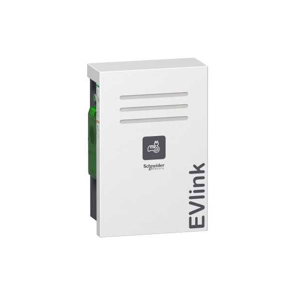 Schneider Electric EVW2S7P44 EVlink Wall Mounted 7kW 2xT2 With Shutter