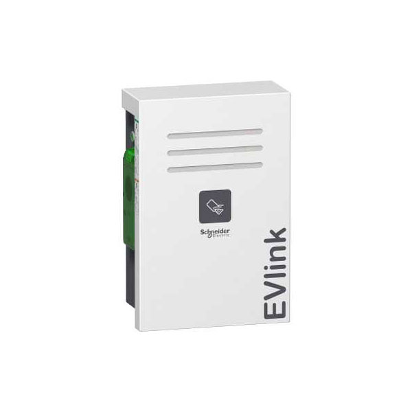 Schneider Electric EVW2S7P44R EVlink Wall Mounted 7kW 2xT2 With Sh...