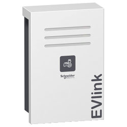 Schneider Electric EVW2S22P04 EVlink Wall Mounted 22kW 1xT2 With Shutter
