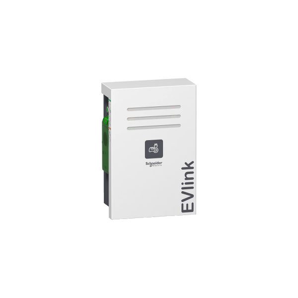 Schneider Electric EVW2S22P44 EVlink Wall Mounted 22kW 2xT2 With S...