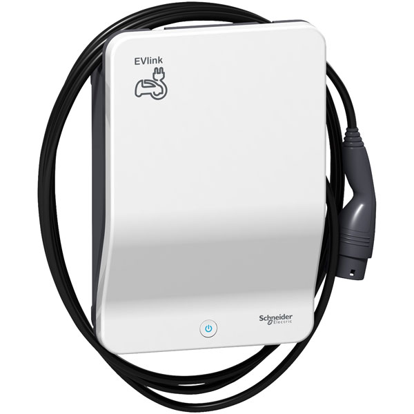 Schneider Electric EVB1A7PCKI 7kW Charger with 4.5m Cable Type 2 P...