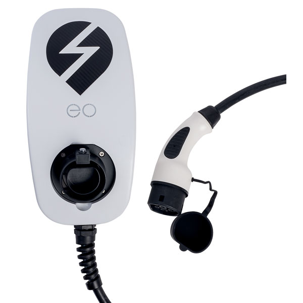 EO EG009-T1-10-DCL eoBASIC EV Charger 3.6kW/16A Tethered Type 1 - ...
