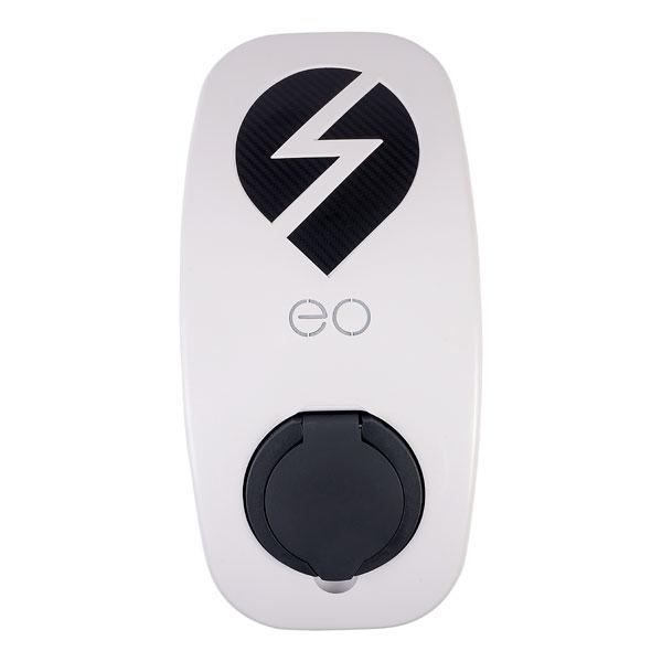 EO EG004-DCL eoGENIUS 22kW/32A 3PH Smart App Single Socket White DCL