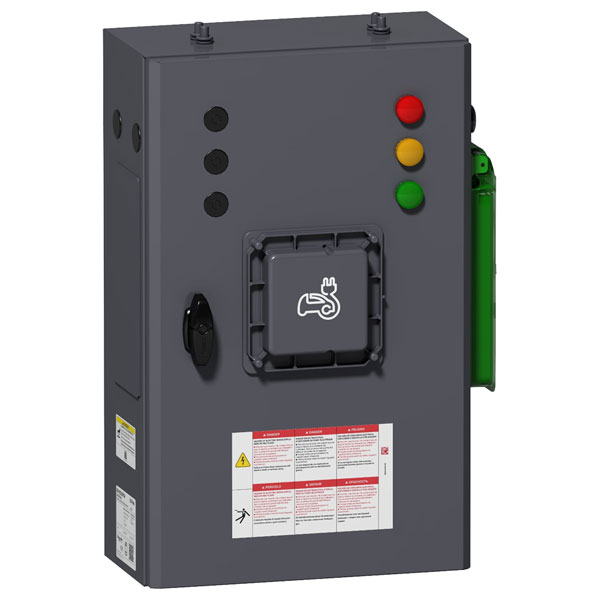 Schneider Electric EVP2PE2204 EVlink Parking SE Enclosure GR 22kW ...