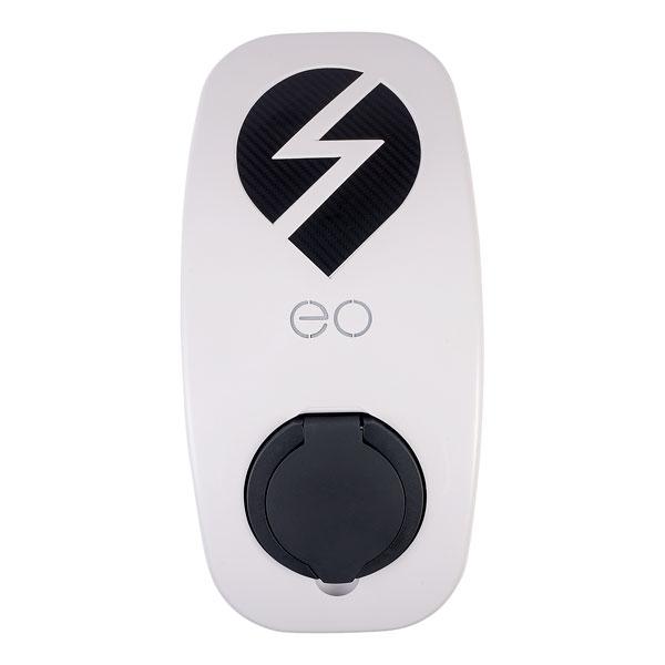 EO EG009-DCL-WCS-KL1 eoBASIC 3.6kW/16A 1PH Single Socket White DCL WCS