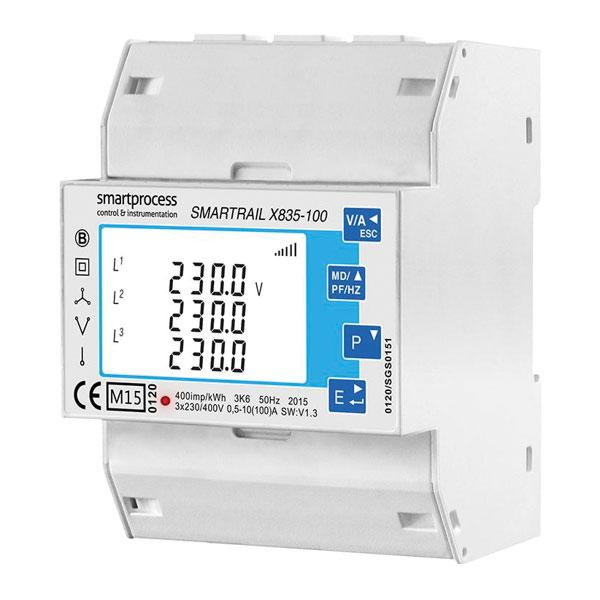 EO Genius SDM630-MOD-MID Pro MID SMARTRAIL 3 Phase Meter