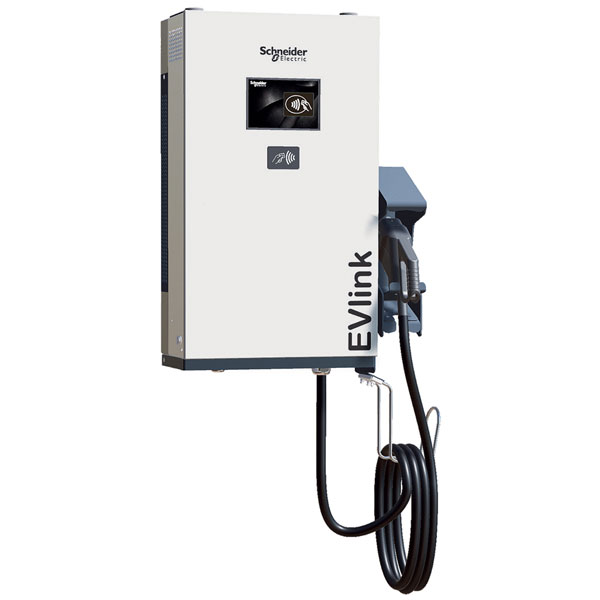 Image of Schneider Electric EVD1S24THB 24kW DC Charger CHAdeMO & CCS Combo 2