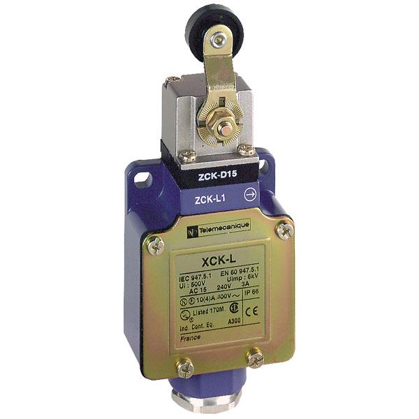 Telemecanique XCKL115 Plastic Roller NC+NO Snap OsiSense Limit Switch
