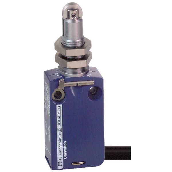 Telemecanique XCMD21F2L1 Metal Roller Plunger NC+NO Snap M12 Limit...