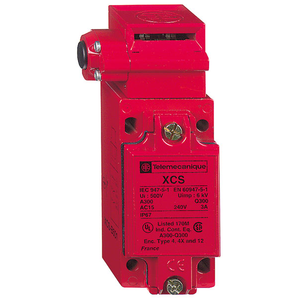 Image of Telemecanique XCSB502 NC+2N0 M20 Slow Break Manual Metal Safety Switch