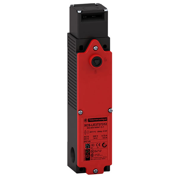 Image of Telemecanique XCSLE2727312 2NC+2NC M20 Slow Break Plastic Safety S...
