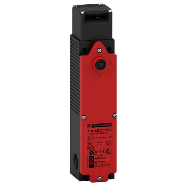 Image of Telemecanique XCSLE3737312 4NC+2NO M20 Slow Break Plastic Safety S...