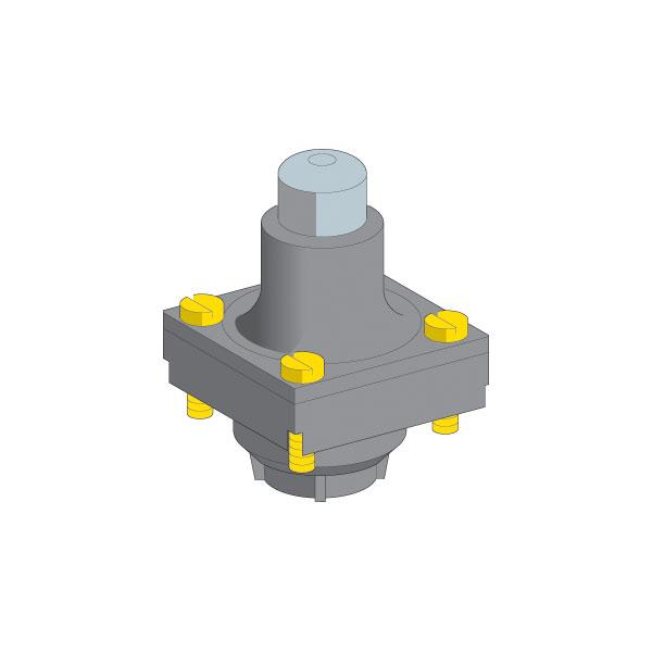 Telemecanique ZCKD01 Metal End Plunger Limit Switch Head