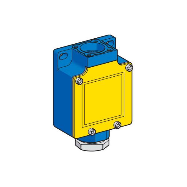 Telemecanique ZCKL1 NC+NO Snap Cable Gland Limit Switch Body