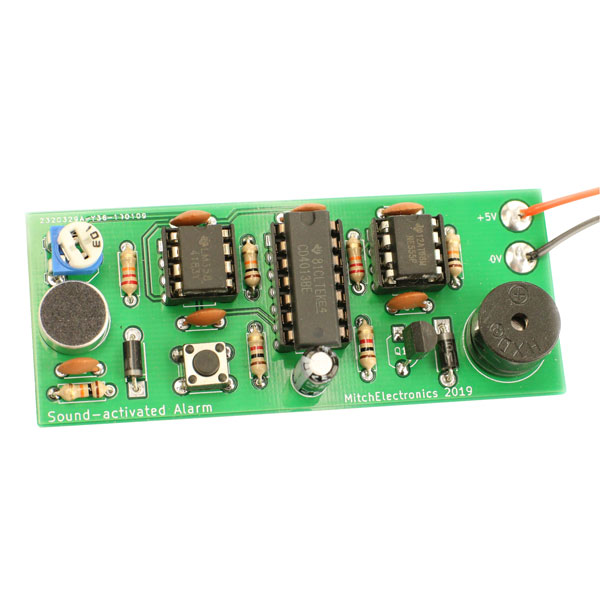 MitchElectronics Sound Activated Alarm Kit