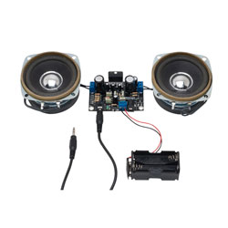 Rapid 10W Stereo Amplifier With Speakers