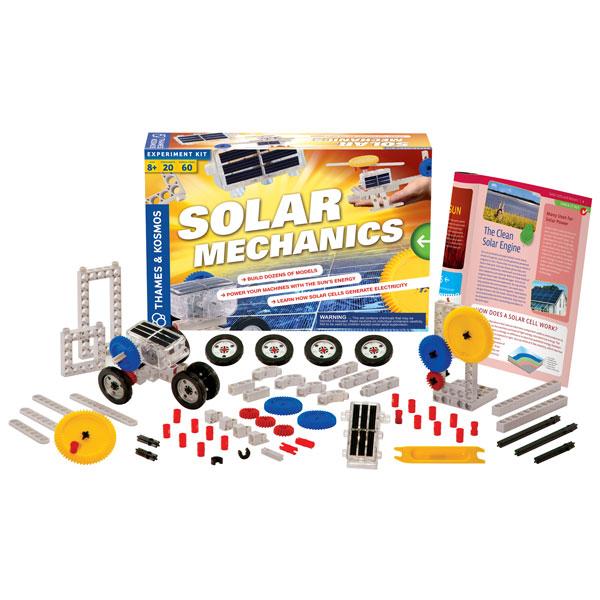 Image of Thames & Kosmos Solar Mechanics Experiment Kit