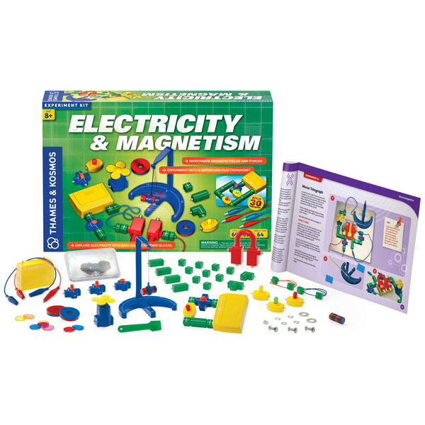 Image of Thames & Kosmos Electricity & Magnetism Experiment Kit