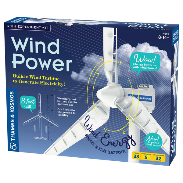 Image of Thames & Kosmos Wind Power Renewable Energy Science Kit V3.0
