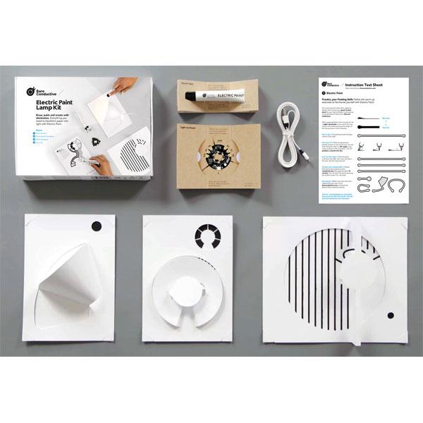 Bare Conductive Electric Paint Lamp Kit Rapid Online