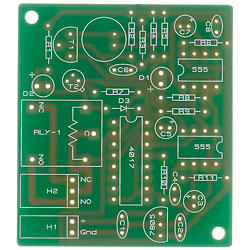 Pcb for Clap Switch Project Kit - Single