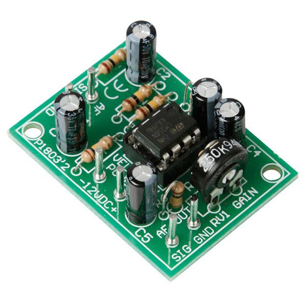 Velleman K1803 Universal Mono Pre-Amplifier Kit