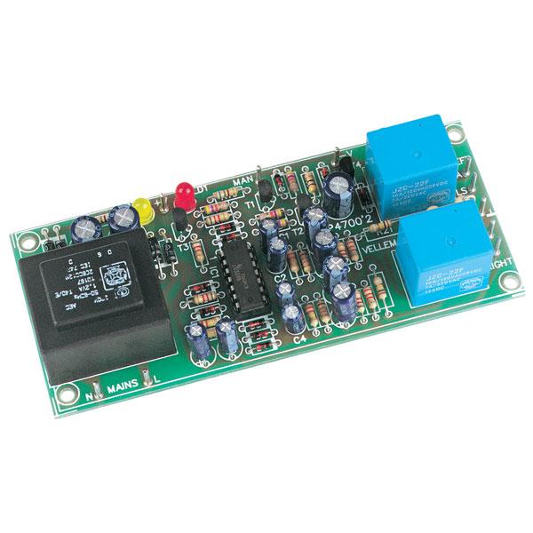 Velleman K4700 2-Channel Loudspeaker Protection Kit