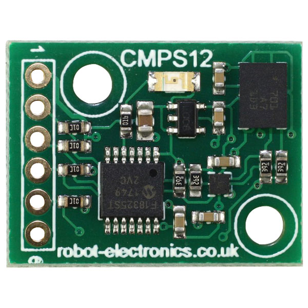 Robot Electronics CMPS12 Tilt Compensated Compass