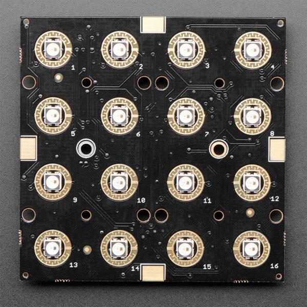 Adafruit 3954 Neo Trellis RGB Driver PCB for 4x4 Keypad