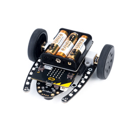 4tronix Bit:Bot Robot for BBC micro:bit with Addressable LEDs
