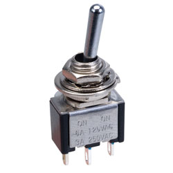 SCI TA102A1 3A SPDT Miniature Toggle Switch On-on