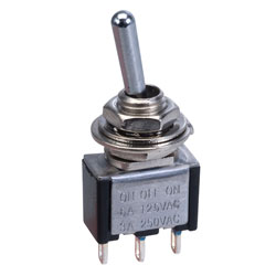 SCI TA105A1 Mini Toggle Switch SPDT On/off(on)