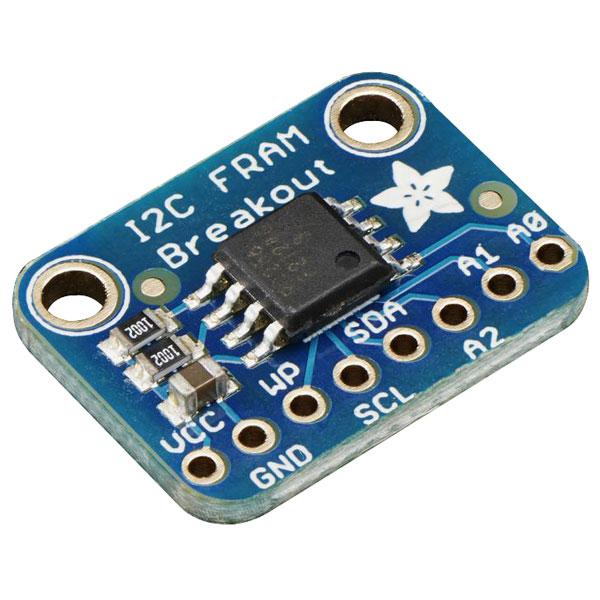 Adafruit 1895 FRAM Breakout I2C Non- Volatile 256Kbit / 32KByte
