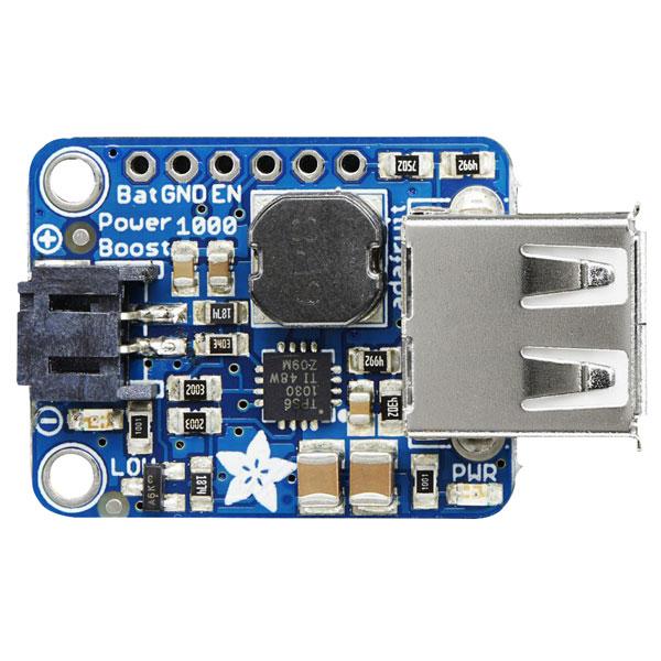 Adafruit 2030 PowerBoost 5V USB Boost 1000mA from 1.8V+