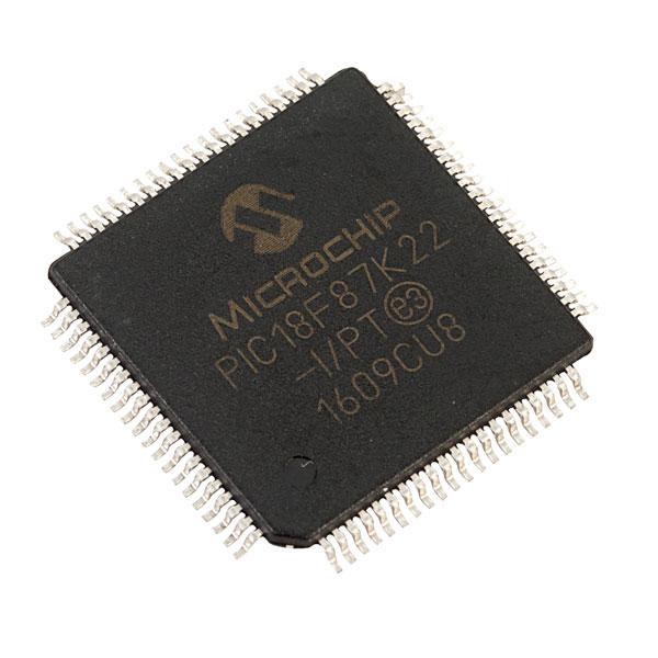 Microchip PIC18F46K22-I//PT 8-bit Microcontroller 64MHz TQFP44