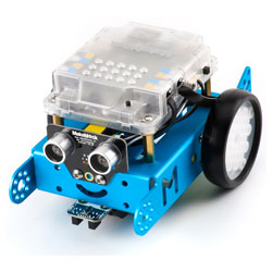 Makeblock 90053 mBot V1.1 Blue Bluetooth Enabled STEM Robot Kit