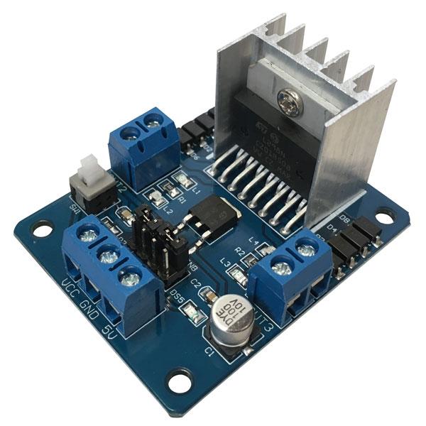 4tronix L298N Dual H-Bridge Motor Driver Module